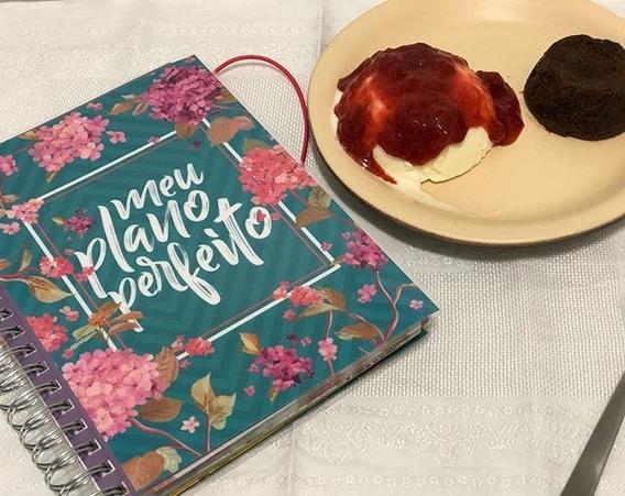 Planner Agenda - Meu Plano Perfeito - Capa Flores