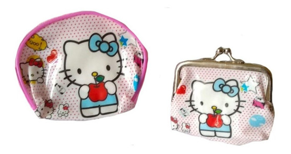 Set 2 Monedero Hello Kitty Monedero Cierre Monedero Bolita