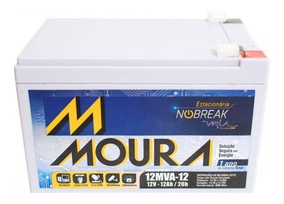 Bateria Moura 12v 12ah Scooter, Bike, No-break