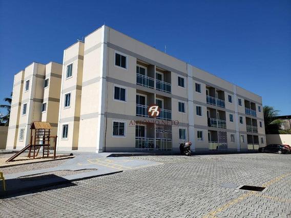 Apartamento Novo Com 2 Dormitórios À Venda Ou Aluguel, - Caucaia/ce - Ap0401