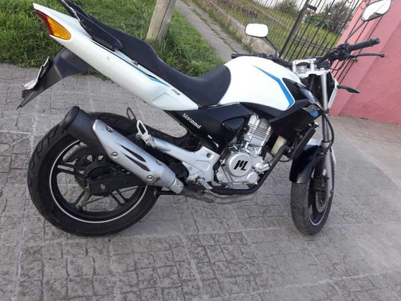 Motomel S6 250cc Blanca, Papeles Al Día Unico Dueño