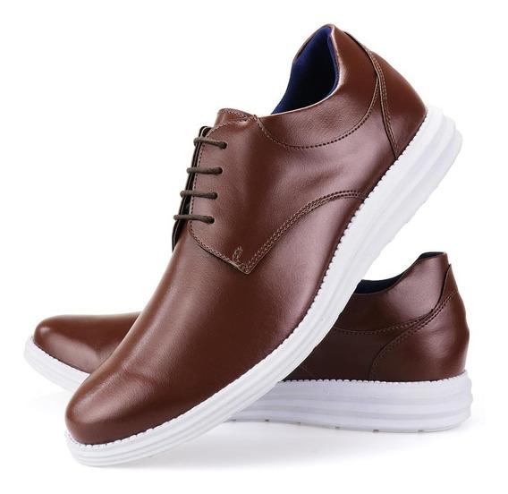 Sapato Social Masculino Casual Sport Fino Oxford Confortável
