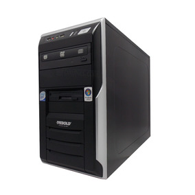 Gabinete Processador Intel Core 2 Duo E8400 Memoria Ram 2gb
