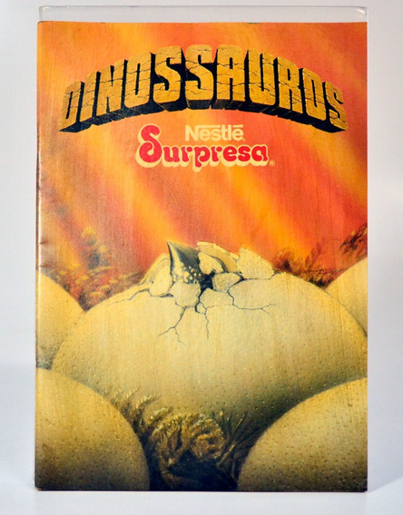 Álbum Nestlé Surpresa - Dinossauros - Vazio - Item 02