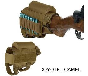 Cartuchera Tactica Escopeta Rifle P/ Balas Culata Munición