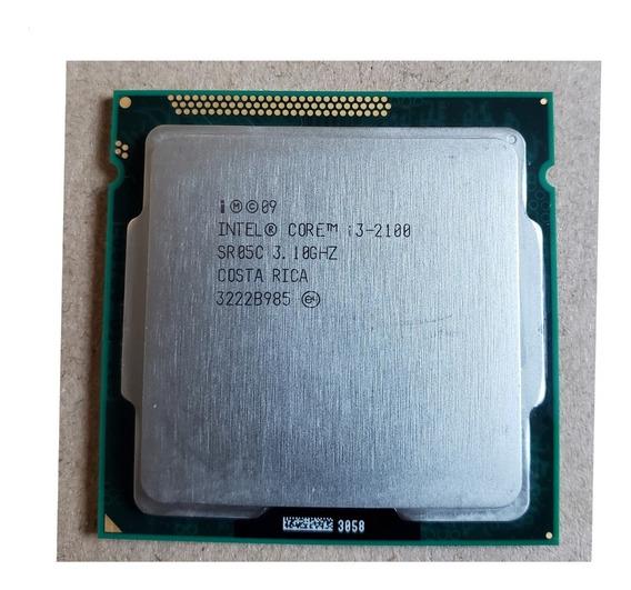 Processador Core I3 2100 Lga 1155 Intel 3,10ghz