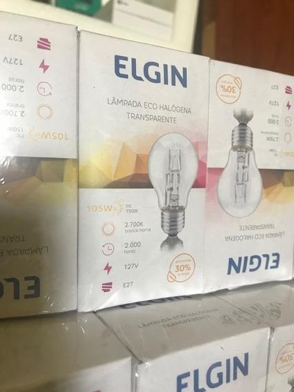 Lampada Eco Halogena 105w Transp.2000hrs.127v