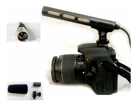 Microfono Original Sony Ecm_xm1 Para Cámaras Y Grabar Audio
