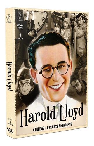 Imagem 1 de 4 de Dvd Harold Lloyd Digistak Com 3 Dvds - Opc - Bonellihq I19