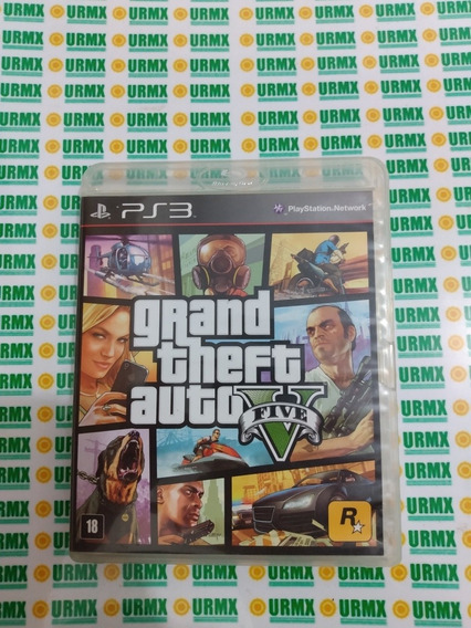 Grand Theft Auto Gta 5 - Ps3