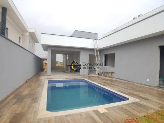 Casa Com 3 Dormitórios À Venda, 190 M² Por R$ 980.000,00 - Condomínio Terras Do Cancioneiro - Paulínia/sp - Ca1107
