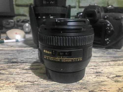 Lente Nikon Nikkor 50mm F/1.4g