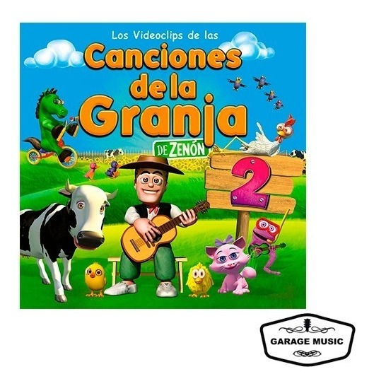Los Videoclips De Las Canciones De La Granja Vol. 2 - Dvd