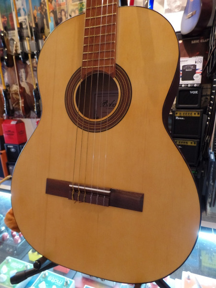 Guitarra Clásica Criolla Bohemia Nro 8 Natural Mate Estudio