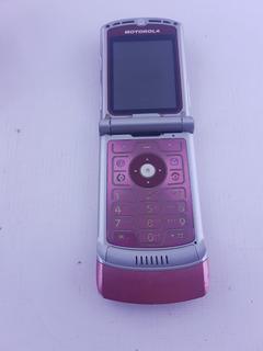 Celular Motorola V3-usado- Funcionando-vivo