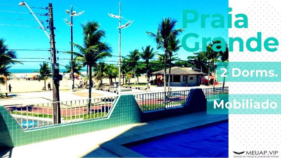 Apartamento Mobiliado Para Venda Em Praia Grande - Pg255 - 34453799