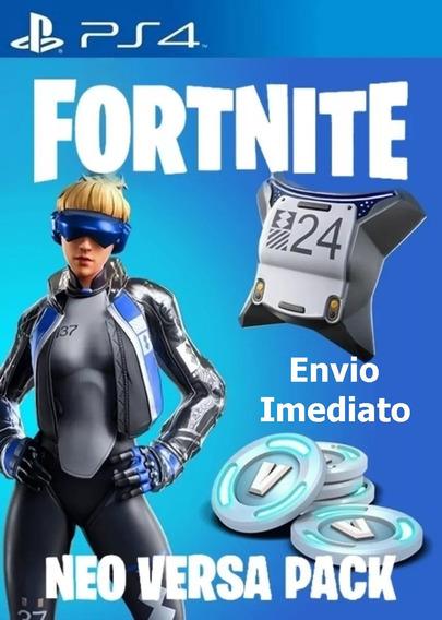 Fortnite Epic Neo Versa Bundle 500 V-bucks Ps4 Br/eua