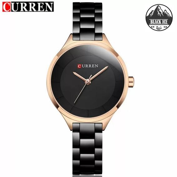 Relógio De Luxo Feminino Curren 9015