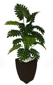 Planta Artificial Bananinha Decoração + Vaso Promoção