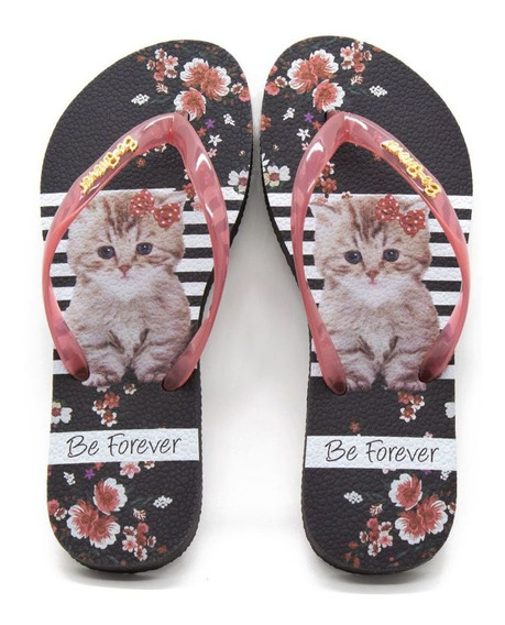Chinelo Be Forever By Rafitthy Cat Red 110.91701