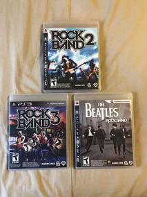 Rock Band 2, 3 E The Beatles - Ps3