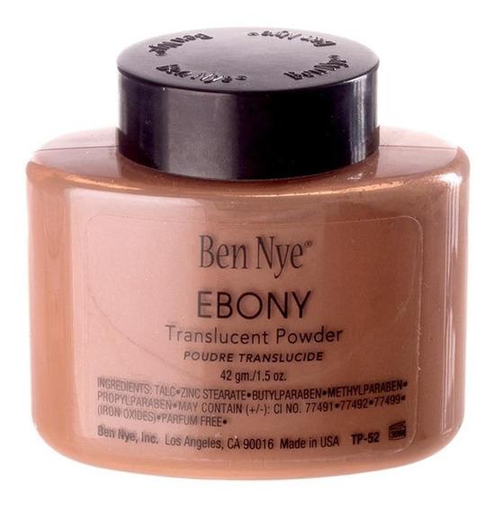 Ben Nye Face Powder Cor Ebony Finalizador Contorno Bronzer