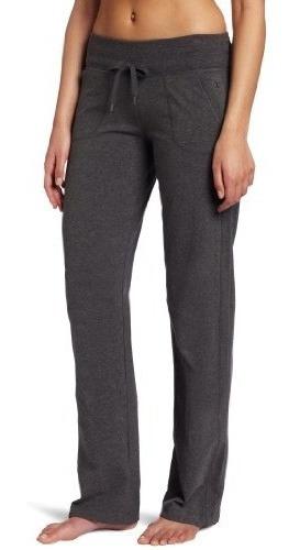 Pantalon Danskin Drawcord Para Mujer, Charcoal Heather, Medi