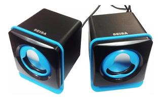 Parlante Computadora Gamer Noga Usb Audio Multimedia 2.0