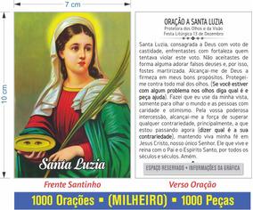 Santinho Santa Luzia (milheiro)