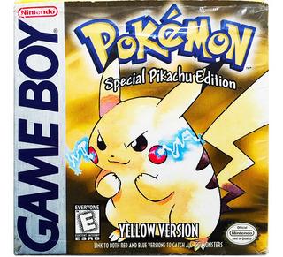 Pokemon Yellow Completo - Nintendo Gb Gbc & Gba