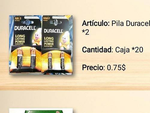 Pila Duracell Aa Aaa Al Mayor Pack 12 Unidades