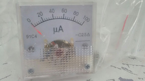 Microamperímetro De 0 A 100