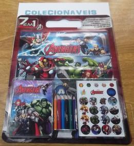 Livro De Atividades 7 Em 1 - Vingadores - Marvel