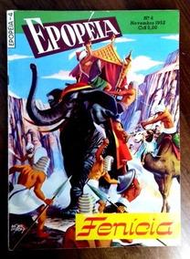 Epopéia Nº 4 (ebal -1a Série -1952) Com 50 Páginas .- Ótima