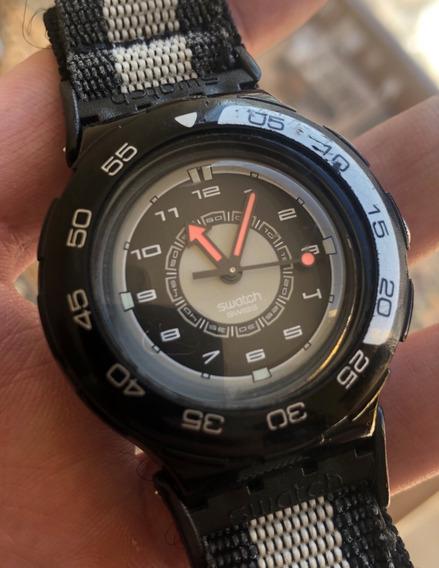 Relógio Swatch Originals Scuba Sdb117 Ag2000 Trocar Pulseira