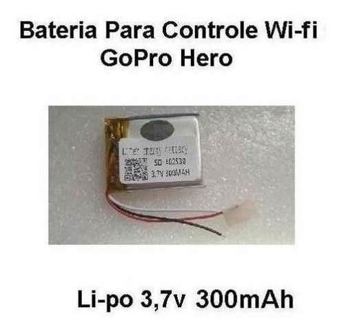 Bateria 3,7v 300mah