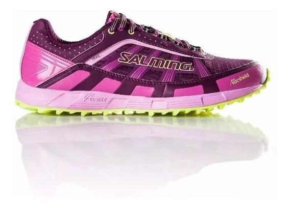 Zapatilla Salming Trail 3 Mujer Running Liviana