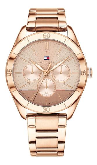 Relógio Tommy Hilfiger Th1781884 Gracie Orig Gold Rosé