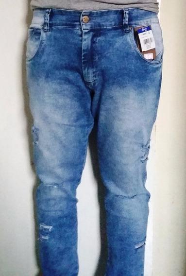 Calça Azul Jeans Bivik 65225 Pronta Entrega | Frete Grátis