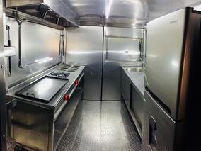 Food Truck Nuevo, Equipado Con Cocina , Acero Inoxidable