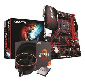 Kit Amd Ryzen 7 2700 Gigabyte B450mg Gaming