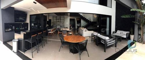 Casa Com 3 Suítes À Venda, 336 M² Por R$ 1.380.000 - Portal Da Mata - Ribeirão Preto/sp - Ca1932