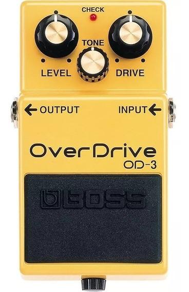 Pedal De Guitarra Boss Overdrive Od3 - Loja Autorizada