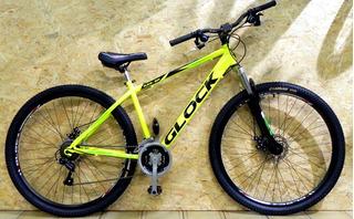 Bicicleta Rodado 29 Mountain Bike Glock Mtb Acero Disco 21v