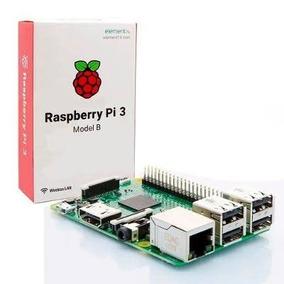 Placa Raspberry Pi 3 Model B Quadcore 1.2ghz 1gb C/ Case