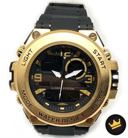 Relógio Original Atlantis Prata Stilo Technos 100% Funcional