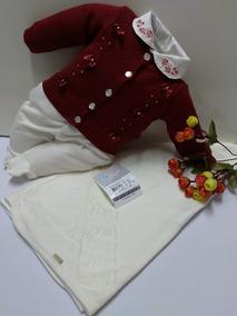 Kit Saida De Maternidade Paraiso Bebê Menina Luxo Cod 7577