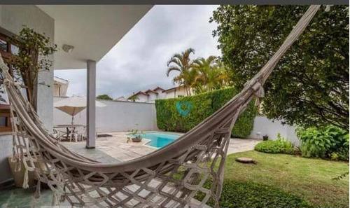 Casa Com 3 Dormitórios Para Alugar, 406 M² Por R$ 15.000,00/mês - Residencial Onze (alphaville) - Santana De Parnaíba/sp - Ca1596