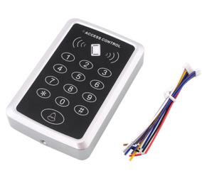 Kit 3pcs - Controle De Acesso Leitor Rfid 125 Khz Com Senha