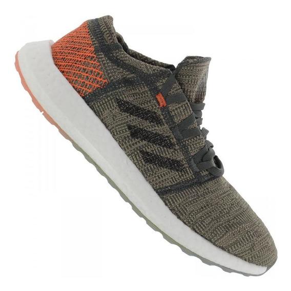 Tênis Runnind adidas Masculino Pureboost Go D97421 Verde